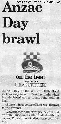 Hills Shire Times - 2 May 2006